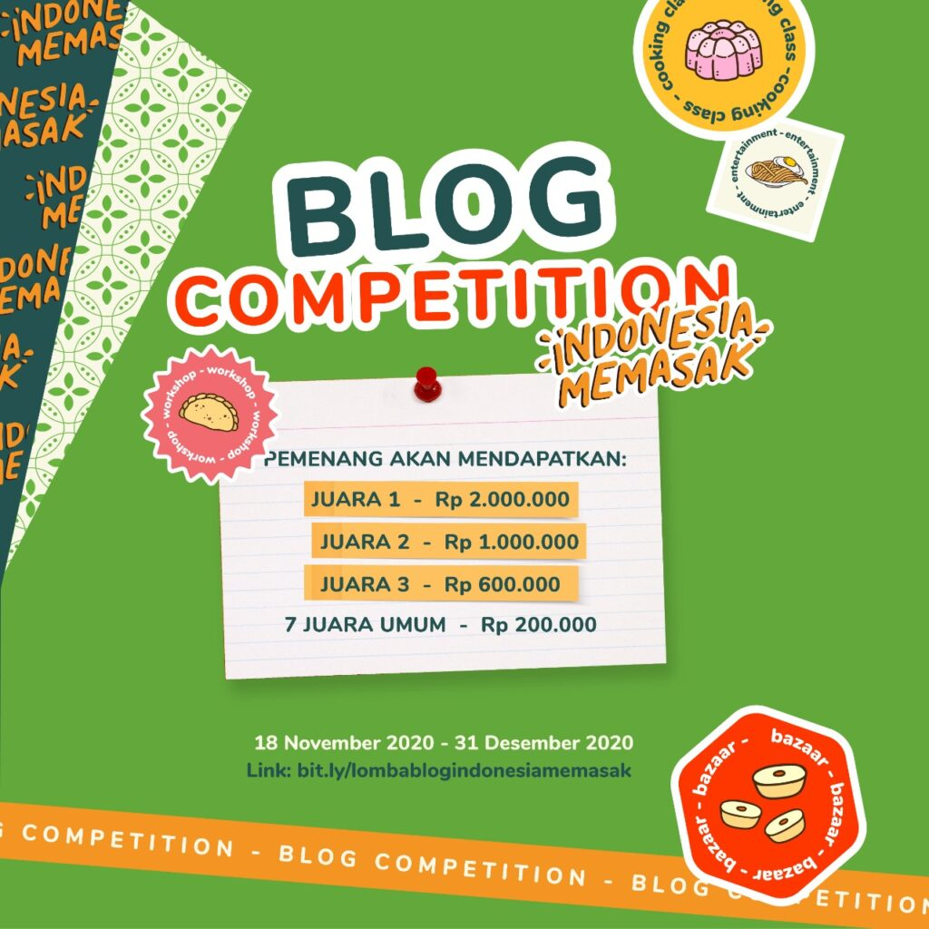 Blog Competition Indonesia Memasak dari Yummy App by IDN Media