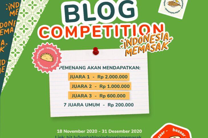 Blog Competition Indonesia Memasak dari Yummy App by IDN Media